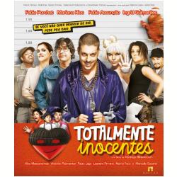 Blu - Ray - Totalmente Inocentes - Fábio Porchat, Fábio Assunção, Mariana Rios - 7898489244403
