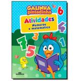Kit Galinha Pintadinha – Números E Matemática - Melhoramentos