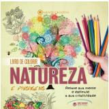 Livro de Colorir - Natureza e Paisagens -