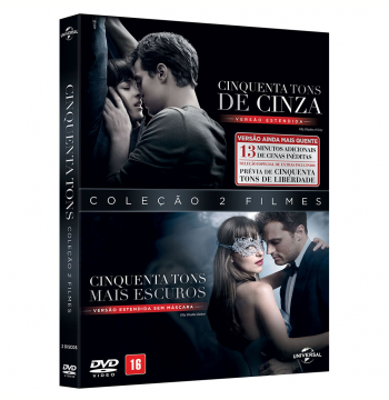 Coleção 50 Tons de Cinza (DVD)