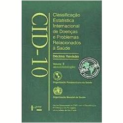 Livros - Cid - 10 ( Vol. 3 ) - OMS ( Organização Mundial da Saúde ) - 9788531403859