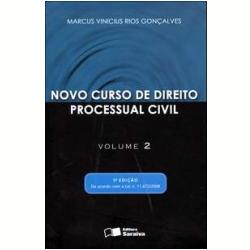 Novo curso de direito processual civil marcus vinicius rios goncalves