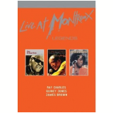 Box Legends - Live at Montreaux (DVD) - James Brown, Ray Charles, Quincy Jones