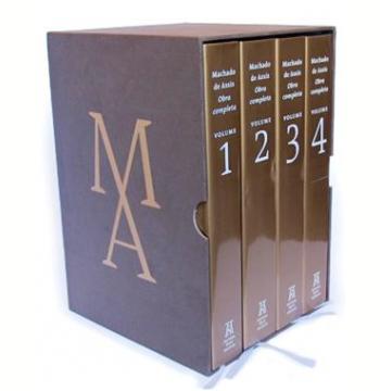 Obra Completa de Machado de Assis (4 Volumes)