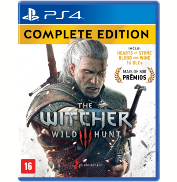 The Witcher III - Wild Hunt - Complete Edition (PS4)