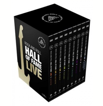 Box Rock and Roll - Hall of Fame - Volume 1 ao 9 (DVD)
