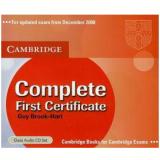 Complete First Certificate - Class Audio Cds (CD) -