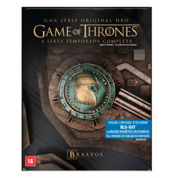 Game Of Thrones - A 6ª Temporada Completa - Steelbook (Blu-Ray)