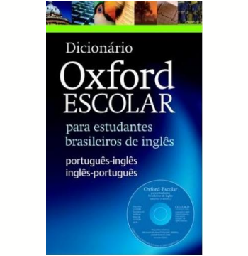 Dicionario Oxford Escolar Com Cdrom - Nova Edição Revisada
