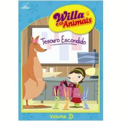 DVD - Willa e os Animais - Tesouro Escondido - Vol. 2 - Dan Yaccarino ( Diretor ) - 7890552103945