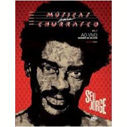 DVD - Seu Jorge - Músicas para Churrasco - Ao Vivo - Duplo - Seu Jorge - 602537088942