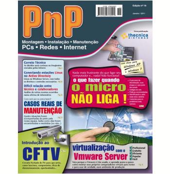 PnP Digital nº 19 - O que fazer quando o micro não liga (Ebook)