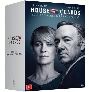 Coleção - House Of Cards (20 Discos) (DVD)