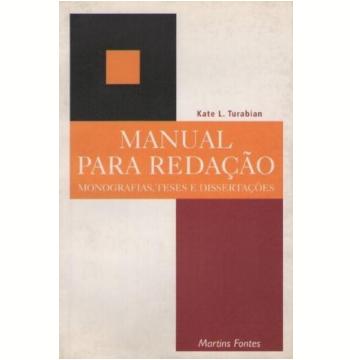 Manual para Redação de Monografia...
