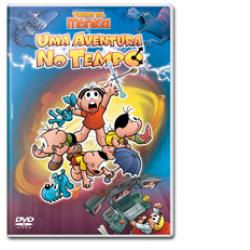 DVD - Turma da Mônica - Uma Aventura no Tempo - 7899307907296