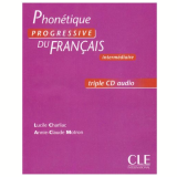 Phonetique Progressive Du Français Intermediaire - CD (3) - Collectif