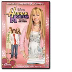 DVD - Hannah Montana - 2º Temporada - Vol. 4 Arrase no Show - 7899307912825