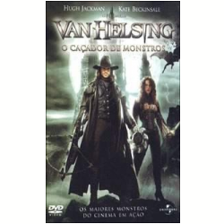 DVD - Van Helsing: O Caçador De Monstros - David Wenham, Kate Beckinsale, Hugh Jackman - 7892141404631