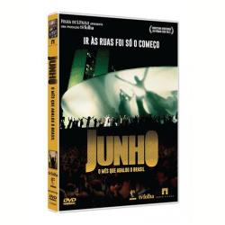 DVD - Junho - O Mês que Abalou o Brasil - Contardo Calligaris, Gilberto Dimenstein, Luiz Eduardo Soares - 7898489247053