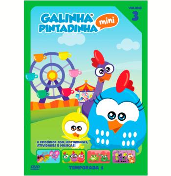 Galinha Pintadinha Mini - 1ª Temporada (Vol. 03) (DVD)