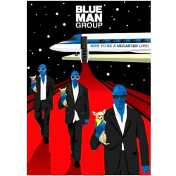 DVD - Blue Man Group - How to Be a Megastar Live - Blue Man Group - 603497982189
