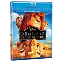 Blu - Ray - O Rei Leão 2: O Reino de Simba Edição Especial - Rob LaDuca ( Diretor ) , Darrell Rooney ( Diretor ) - 7899307916496