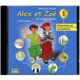 Alex Et Zoe 1 (a1.1) - Cd Audio Individuel - Colette Samson