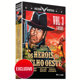Box Western - Os Heróis do Velho Oeste - Vol. 3 - Exclusivo  (DVD)