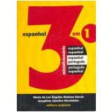 Minidicion�rio de Espanhol 3 em 1 - Josephine S�nchez Hern�ndez, Mar�a de Los �ngeles Jim�nez Garc�a