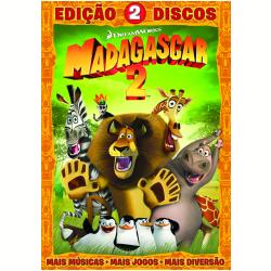 DVD - Madagascar 2 - Edição 2 Discos - Tom Mcgrath ( Diretor ) , Eric Darnell ( Diretor ) - 7890552091327