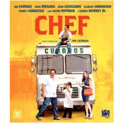 Blu - Ray - Chef - Robert Downey Jr., Scarlett Johansson - 7899154516184