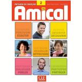 Amical 2 - Livre De L´eleve Avec 1 Cd Audio - Sylvie Poisson-quinton