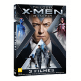 Coleção X-men Trilogia - O Início (DVD) - Michael Fassbender