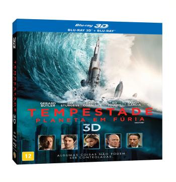 Tempestade - Planeta Em Fúria (Blu-Ray 3D + Blu-Ray)