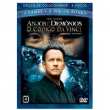 Anjos e Demônios + O Código Da Vinci - Edição de Colecionador (DVD) - Tom Hanks