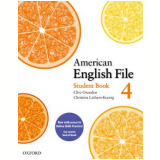 American English File 4 - Student Book Pack With Access Code Card -