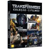 Transformers - Coleção 5 Filmes (DVD) - Anthony Hopkins, Josh Duhamel