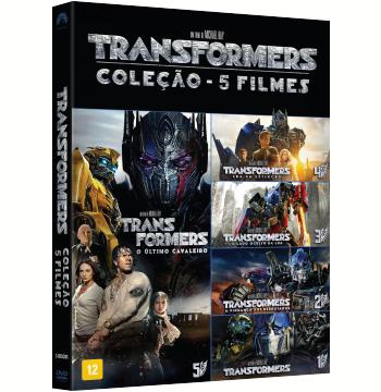 Transformers - Coleção 5 Filmes (DVD)