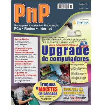 PnP Digital nº 15 - Upgrade de computadores, truques de bancada, contratos de manutenção (Ebook)