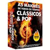 Box As Maiores de Todos os Tempos  - Clássicos & Pop (DVD) - Vários