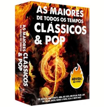 Box As Maiores de Todos os Tempos  - Clássicos & Pop (DVD)