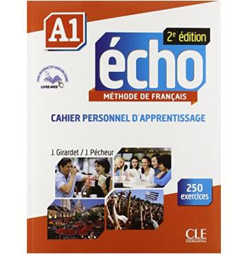 Echo A1 - 2E Edition - Cahier D´Exercices + CD Audio