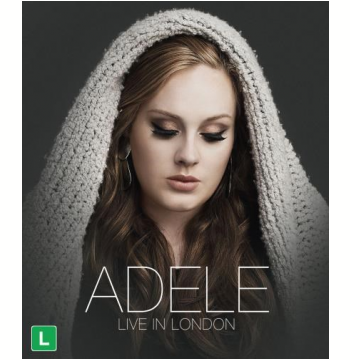 Adele - Live In London (Blu-Ray)