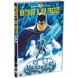 DVD - Batman & Mr. Freeze: Abaixo de Zero - Kevin Conroy, Michael Ansara - 7892110026604