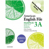 American English File 3A Multi-Pack With Access Code Card -