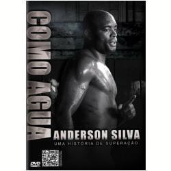 DVD - Como Agua - Anderson Silva - Steven Seagal - 7898920255951