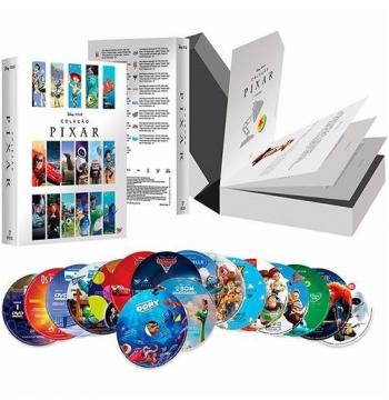 Coleção Pixar 2016 (17 DVDs)