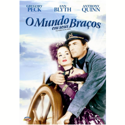 DVD - O Mundo em Seus Braços - Anthony Quinn - 7898366214758