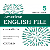 American English File 5 Class Cd Level 5 - Second Edition -