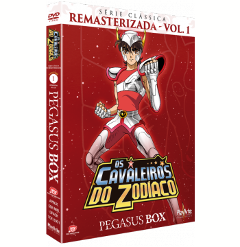 Os Cavaleiros do Zodíaco - Digipack (Vol. 1)  (DVD)